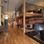 Geoffrey Bradfield Inc Eclectic Living Room New