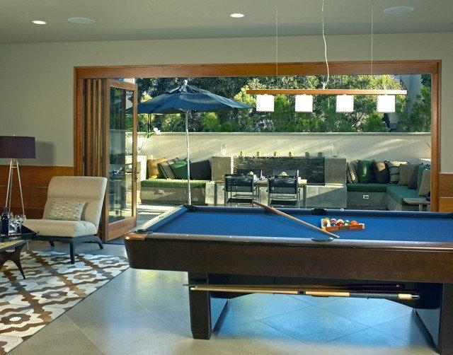 Contemporary Living Room by Joani Stewart-Georgi - Montana Ave. Interiors