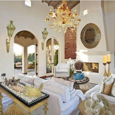 Traditional Living Room by Gina Sofia Martelli , ASID