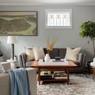 Merveilleux 75 Beautiful Transitional Living Room Pictures U0026 Ideas | Houzz
