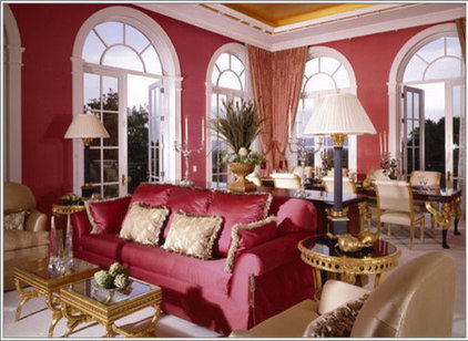 Traditional Living Room by MARK MORRIS DESIGN GROUP