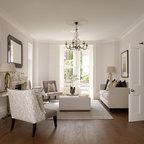 Living room modern living room austin by watermark for Living room 75020