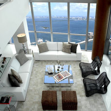 Modern Living Room by Troy Dean Interiors