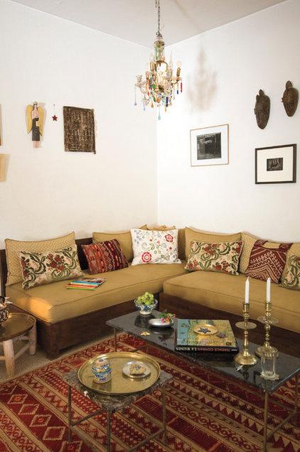mediterranean living room by Workman Publishing/Artisan Books