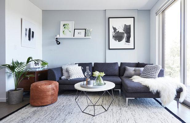 Contemporary Living Room by Studio 1 Interiors