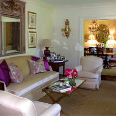 Traditional Living Room by Holly Phillips @ The English Room