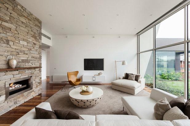 Contemporain Salon by LSA Architects