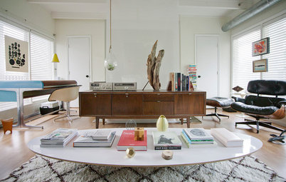 Houzz Tour: Addicted to Iconic Furniture in Houston