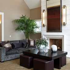 contemporary living room by Marshall Morgan Erb Design Inc.