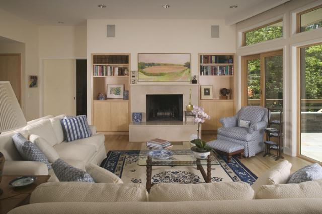 Traditional Living Room by Martin E. Rich Architect, P.C.