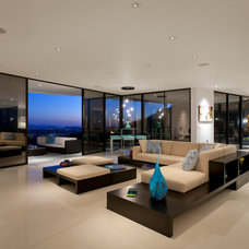 Contemporary Living Room by Spry Architecture