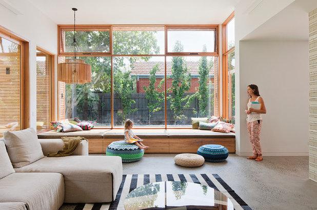 Modern Wohnbereich By Bg Architecture
