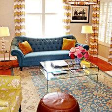 Eclectic Living Room by Bolen Designs