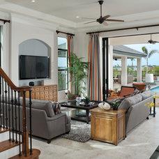 Contemporary Living Room by Arthur Rutenberg Homes