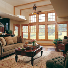 Traditional Living Room by Hammer and Nail Exteriors