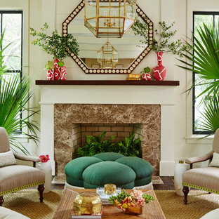 75 Beautiful Tropical Living Room Pictures & Ideas | Houzz