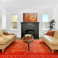 Eclectic Living Room by Kenihan Development