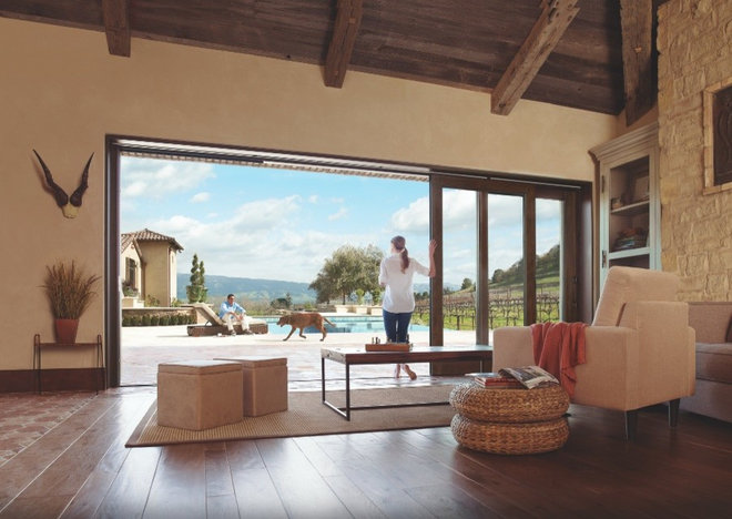 Contemporary Living Room by Marvin Windows and Doors