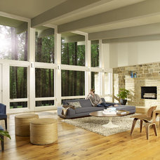 Modern Living Room by Marvin Windows and Doors