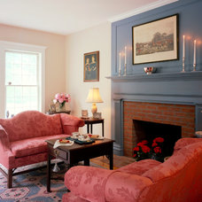 Farmhouse Living Room by Connor Homes