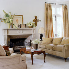 Traditional Living Room by Mary Evelyn Interiors
