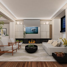 Contemporary Family Room by Studio Robson Martins