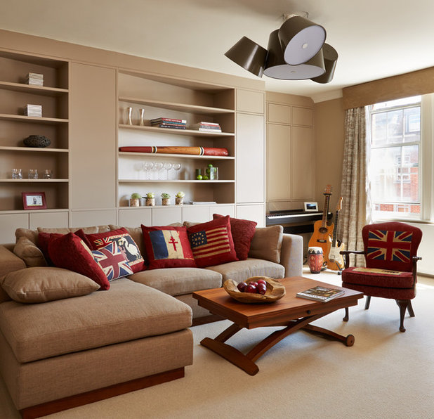 Living Room Interior Design: 10 Ways To Dazzle With Cluster Lights