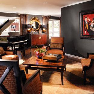 Masculine Living Room Houzz