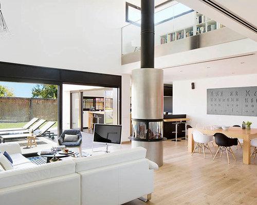 Fotos de salones dise os de salones modernos for Salones de madera modernos