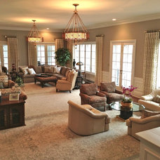 Traditional Living Room by Russell Martin Carpet