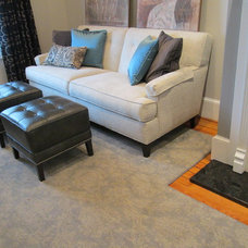 Transitional Living Room by Susan Dorsey-  Interior Designer with Ethan Allen