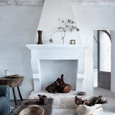 Mediterranean Living Room by Alexander Waterworth