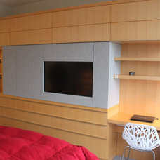 Contemporary Bedroom by SOMA Millwork & Design