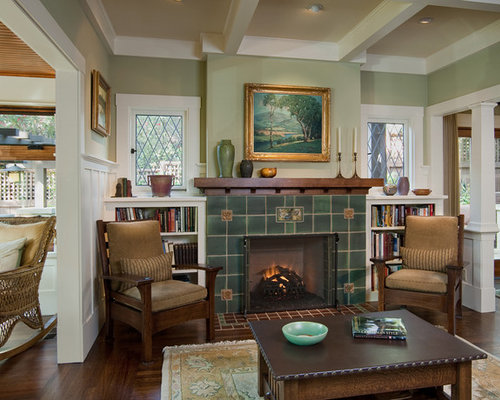 Luxury arts and crafts living room design ideas Arts and crafts living room ideas