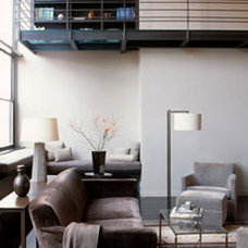 Modern Living Room by Bruno Kearney Architects, LLP