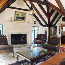 Traditional Living Room by Michael Matrka, Inc