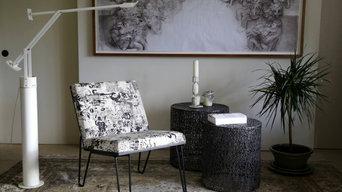 Matt Street - upholstered in Jean Paul Gaultier by Lelievre