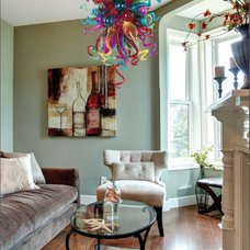 Eclectic Living Room by Maxim Lighting International
