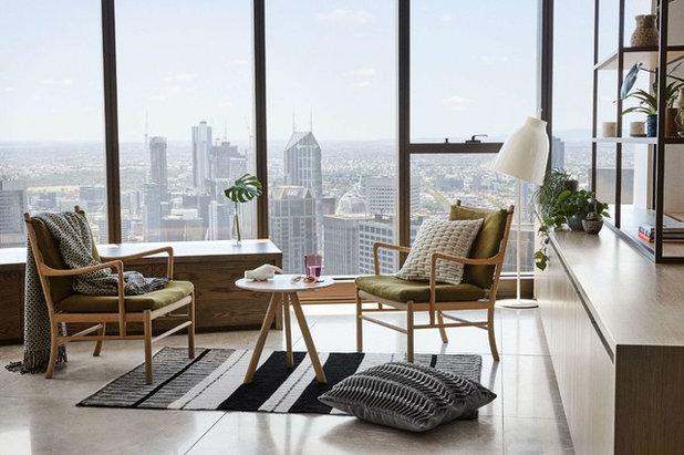 Contemporary Living Room by Nido Studio Interior Design
