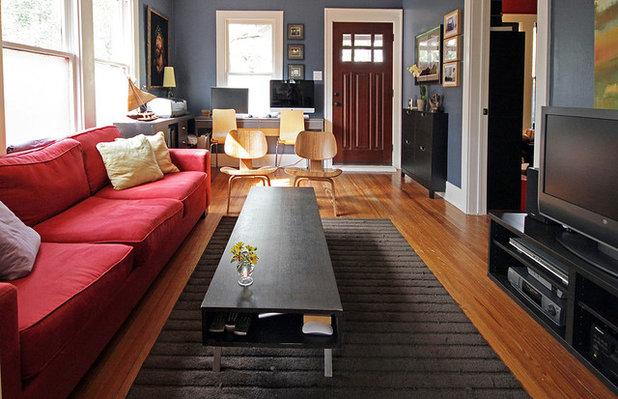 Contemporary Living Room by Kaleidoscope Design Build, LLC