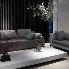 Modern Living Room by GUILLAUME ALAN