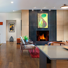Contemporary Living Room by Carlton Architecture