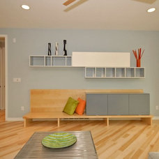 Modern Living Room by Vision Homes & Remodeling
