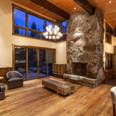 Contemporary Living Room by Mountain Concepts