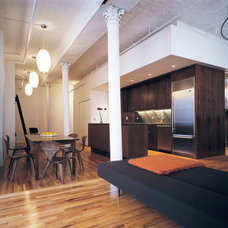 Modern Living Room by Leone Design Studio