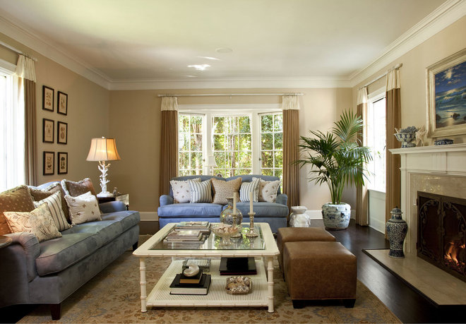 Traditional Living Room by Cynthia Marks - Interiors