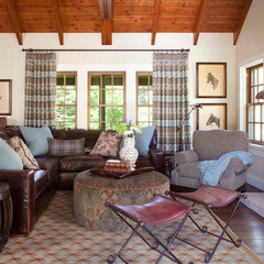 traditional living room by Ashley Campbell Interior Design