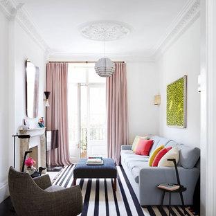 Rose Color Living Room Ideas & Photos   Houzz