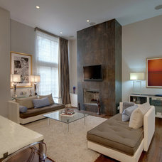 Contemporary Living Room by Michael McHale Designs