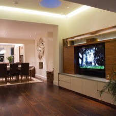 Contemporary Living Room by Andy Stone Bespoke Interiors